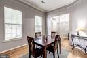 main level dining/sitting/office multifunctional - 26145 NIMBLETON SQ, CHANTILLY