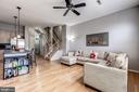 main level family room - 26145 NIMBLETON SQ, CHANTILLY