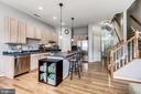 kitchen - 26145 NIMBLETON SQ, CHANTILLY