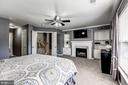 fabulous master bedroom - 26145 NIMBLETON SQ, CHANTILLY