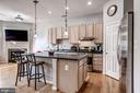great open kitchen space - 26145 NIMBLETON SQ, CHANTILLY