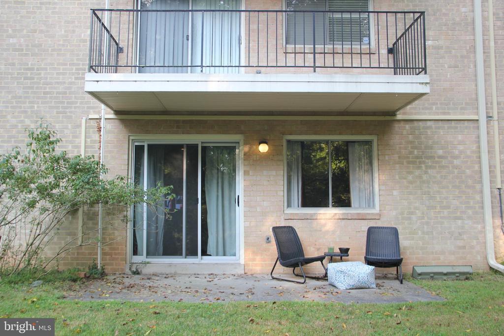 Exterior Rear - 10637 MONTROSE AVE #3, BETHESDA