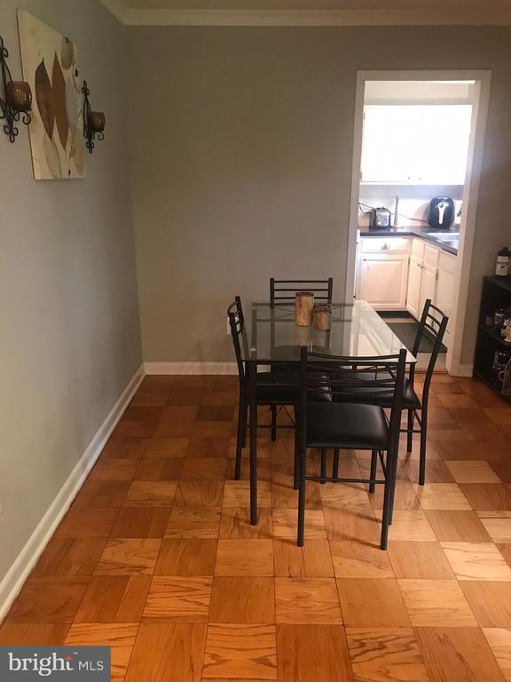 Dining Room - 10637 MONTROSE AVE #3, BETHESDA