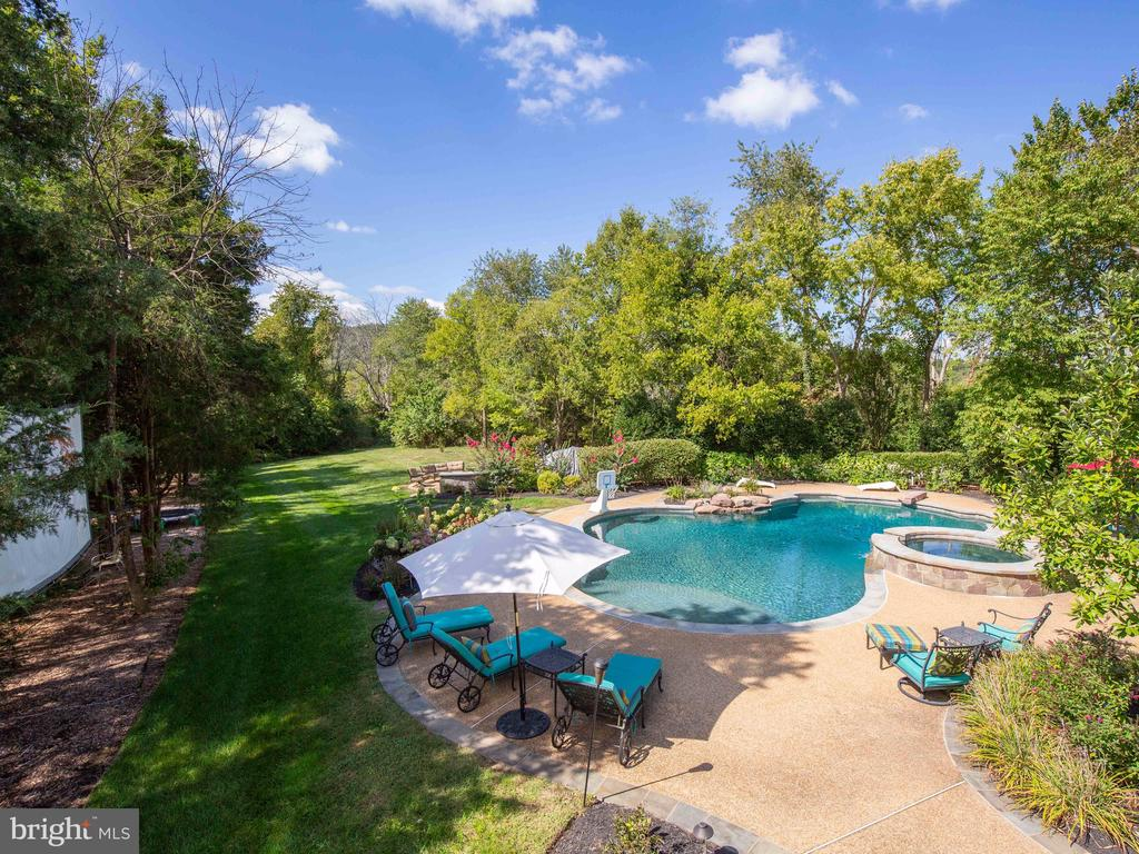 your going to love the outdoor entertainment space - 23429 ROUNDUP PL, ALDIE