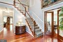 Brazilian cherry hardwoods throughout ML - 7395 BEECHWOOD DR, SPRINGFIELD