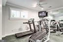 Mirrored exercise room - 7395 BEECHWOOD DR, SPRINGFIELD