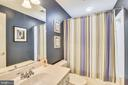 Lower Level Full Bath - 1221 ADMIRAL ZUMWALT LN, HERNDON