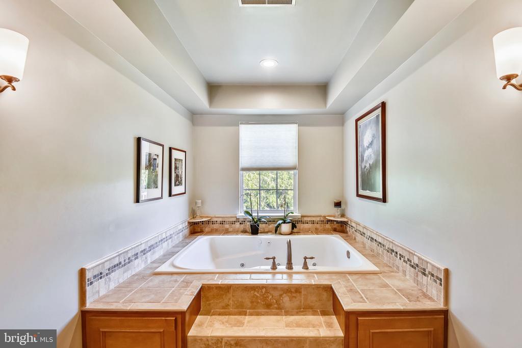 Master Bath-  Soaking Tub - 1221 ADMIRAL ZUMWALT LN, HERNDON