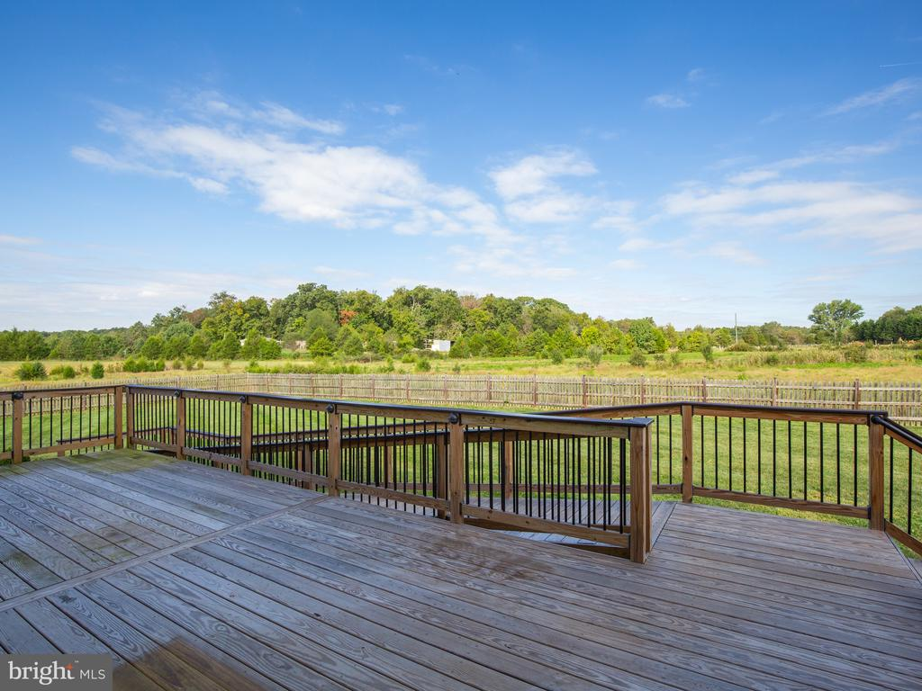 Deck over acres of green pasture - 11000 MISTY CREEK CT, NOKESVILLE