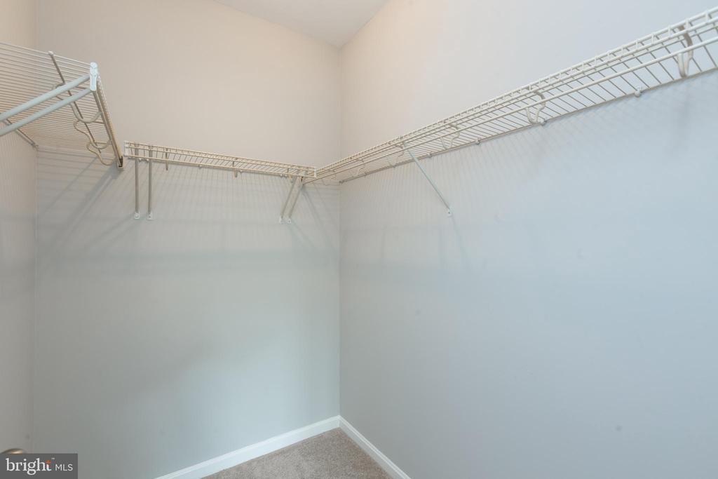 Walk in closet - 24701 BYRNE MEADOW SQ #306, ALDIE