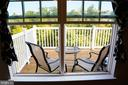 Deck with wooded views - 21726 INDIAN SUMMER TER, STERLING