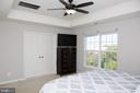MBR boasts Tray Ceiling - 21726 INDIAN SUMMER TER, STERLING