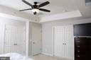 Large Closet, Designer Fan, High Ceilings - 21726 INDIAN SUMMER TER, STERLING