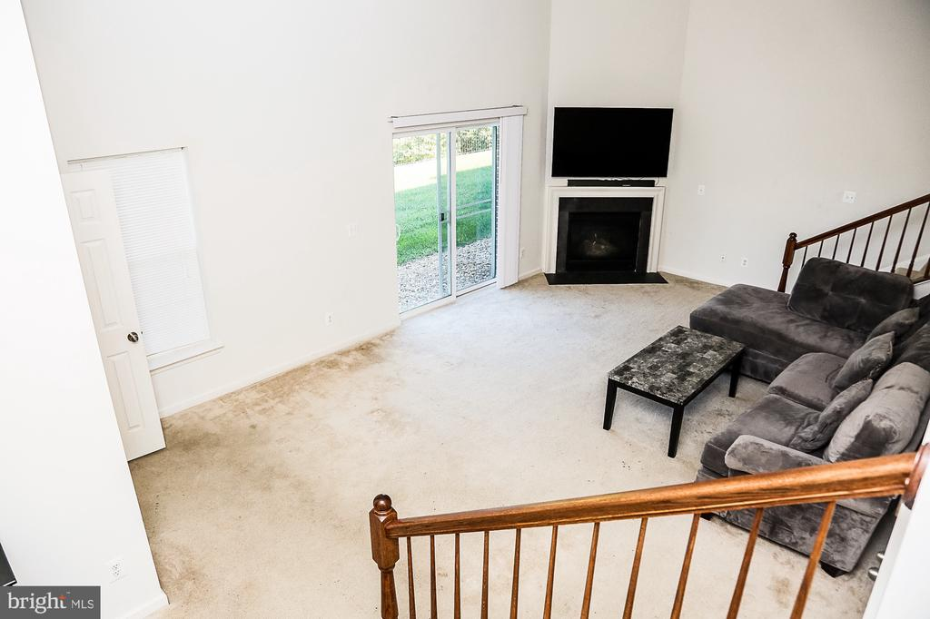 Enter from garage into your Family Room Basement - 21726 INDIAN SUMMER TER, STERLING
