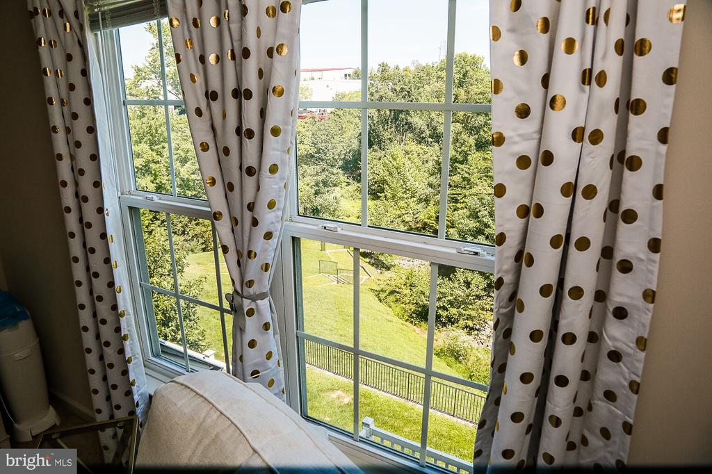Beautiful wood views from Bedroom2 - 21726 INDIAN SUMMER TER, STERLING