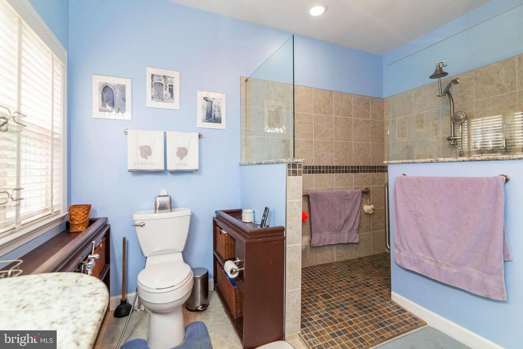 ML Mstr Bath custom toilet handrails, lg shower - 32 TAVERN RD, STAFFORD