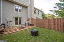 Privacy fence on all sides - 15009 BRIDGEPORT DR, DUMFRIES