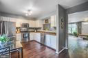 Kitchen open to  front of house - 15009 BRIDGEPORT DR, DUMFRIES
