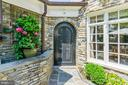 Gorgeous Arched Entry to Backyard - 2848 MCGILL TER NW, WASHINGTON