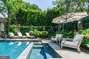 Meticulously Landscaped Backyard - 2848 MCGILL TER NW, WASHINGTON