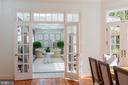 Kitchen to Conservatory - 2848 MCGILL TER NW, WASHINGTON
