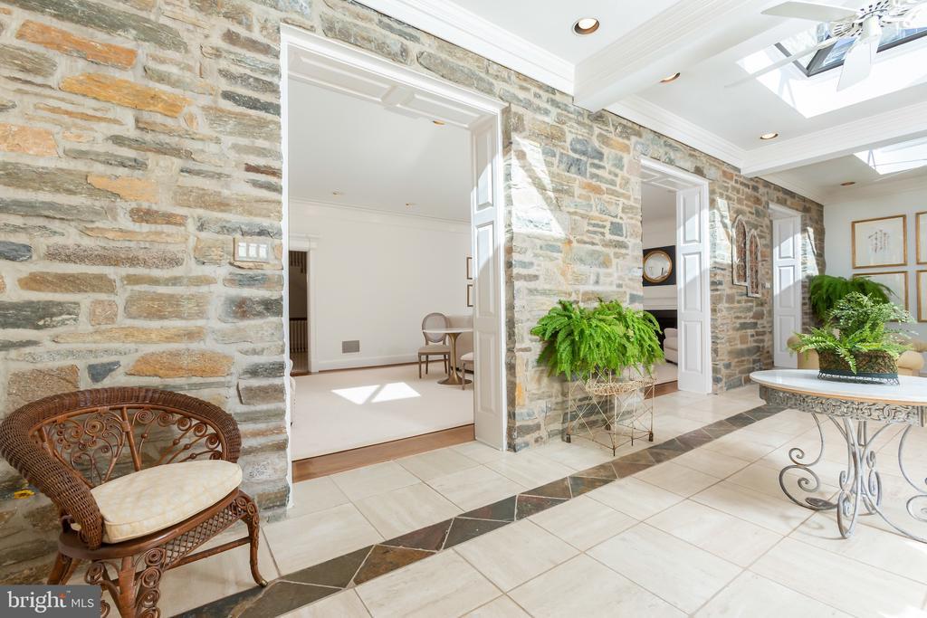 Three Encasements in Original Stone Exterior Wall - 2848 MCGILL TER NW, WASHINGTON
