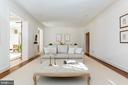 Spacious Living Room - 2848 MCGILL TER NW, WASHINGTON