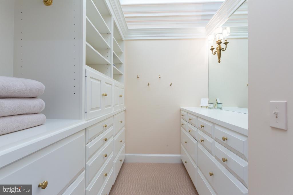 Her Dressing Room and Full Bath - 2848 MCGILL TER NW, WASHINGTON