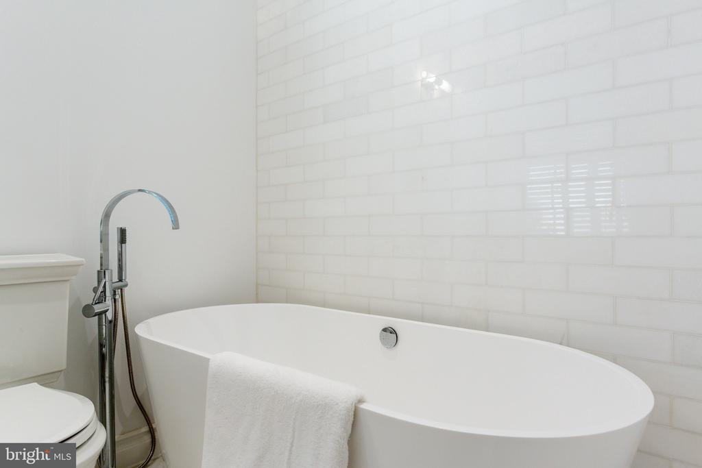 New Ensuite Bath with Tub - 2848 MCGILL TER NW, WASHINGTON