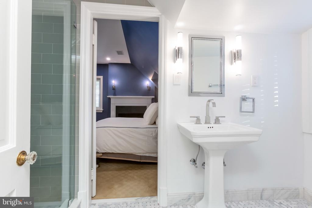 New Bath for Fourth and Fifth Bedrooms - 2848 MCGILL TER NW, WASHINGTON
