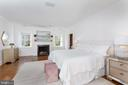 Gracious Master Bedroom with Fireplace - 2848 MCGILL TER NW, WASHINGTON