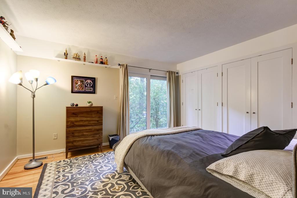 Bedroom Two has Sliding Glass Doors - 1935 UPPER LAKE DR, RESTON