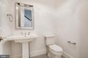 powder room - 3206 ROLLING RD, CHEVY CHASE