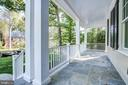 Relaxing front porch - 3206 ROLLING RD, CHEVY CHASE
