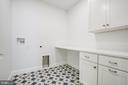 Bedroom  level laundry room - 3206 ROLLING RD, CHEVY CHASE