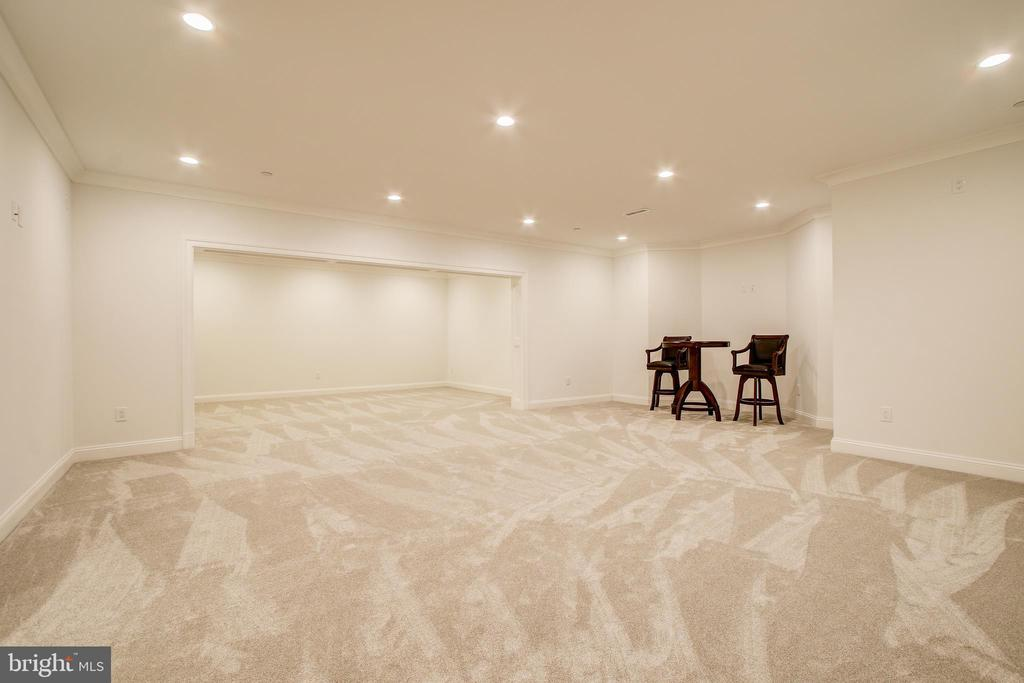 lower level family room - 3206 ROLLING RD, CHEVY CHASE