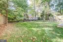 New house with nice level back  yard - 3206 ROLLING RD, CHEVY CHASE
