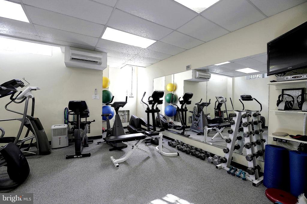 Exercise room on lobby level - 2101 CONNECTICUT AVE NW #44, WASHINGTON