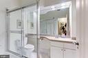 Full bath in hall near office - 2101 CONNECTICUT AVE NW #44, WASHINGTON