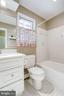 Hall Bath on UL - 3800 DENSMORE CT, ALEXANDRIA