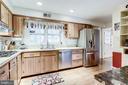 Spacious Eat-in Kitchen with SS Appliances - 3800 DENSMORE CT, ALEXANDRIA