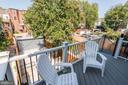 Deck 1 off BONUS Family Room/Second Living Room - 1715 KENYON ST NW #2, WASHINGTON