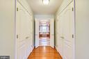 Master- 2 Large Walk in Closets - 1221 ADMIRAL ZUMWALT LN, HERNDON