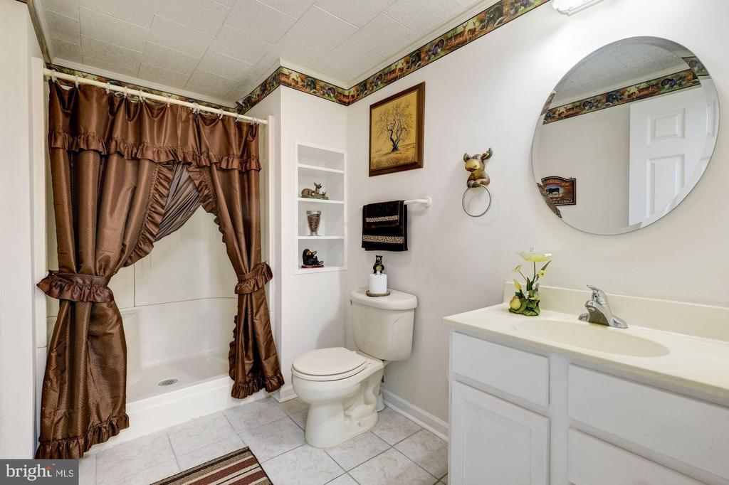 Lower Level Full Bath - 12906 TOWER RD, THURMONT