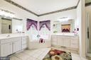 Master Bath - 12906 TOWER RD, THURMONT