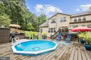 Pool | Tiered Deck - 12906 TOWER RD, THURMONT