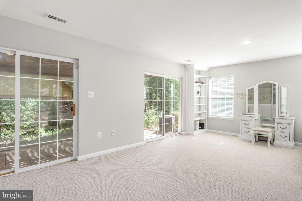 4th bedroom in basement - 20776 BRIDALVEIL FALLS TER, STERLING