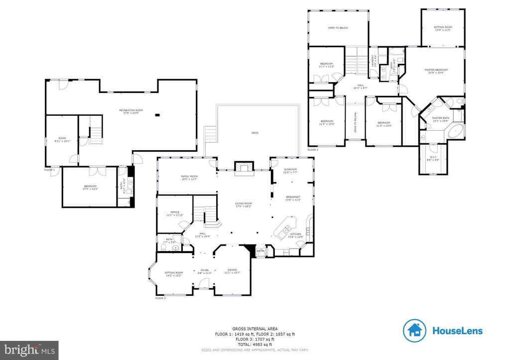 FLOOR PLAN - 5401 ADAMSTOWN COMMONS DR, ADAMSTOWN