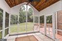 Screened Porch - 10545 CLARKSVILLE PIKE, COLUMBIA