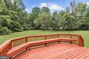 Deck with Seating - 10545 CLARKSVILLE PIKE, COLUMBIA
